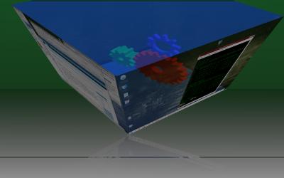 compiz cube