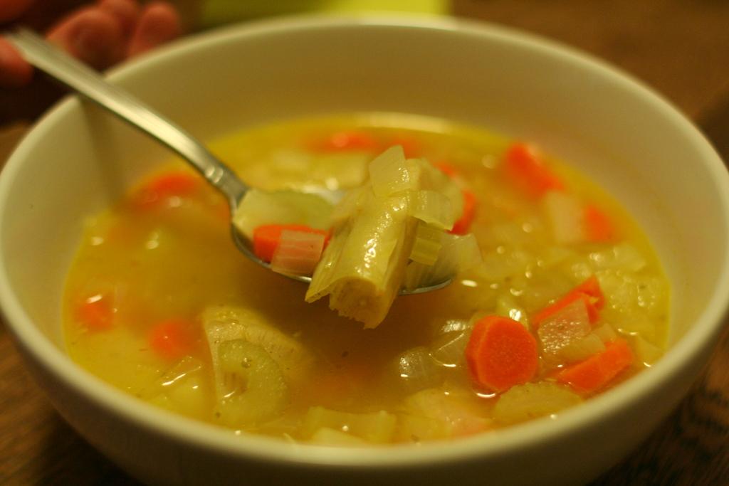 Artichoke soup provençal | robfelty.com
